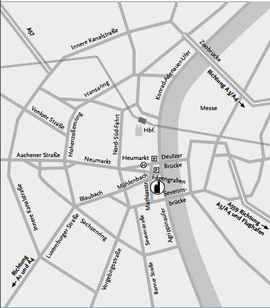 Trinitatis-Kirche-Lageplan